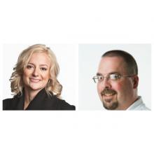 Kristy Brownlee headed up the campaign to organize a union at Canoe, while Dave Pollard become the union's first chair and headed up bargaining on their first contract.